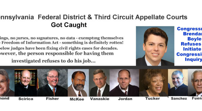 Federal Judges Caught Fixing Cases- Does the Corruption Lead to SCOTUS?